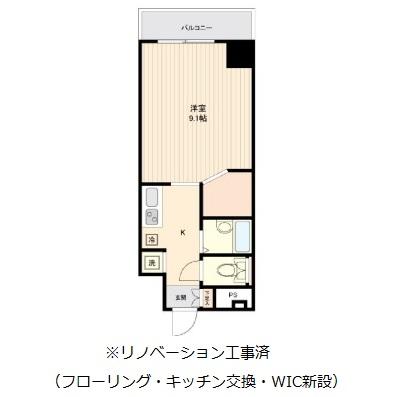 コスモリード幡ヶ谷506号室