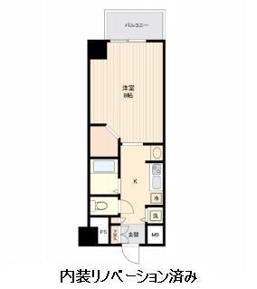 コスモリード幡ヶ谷603号室