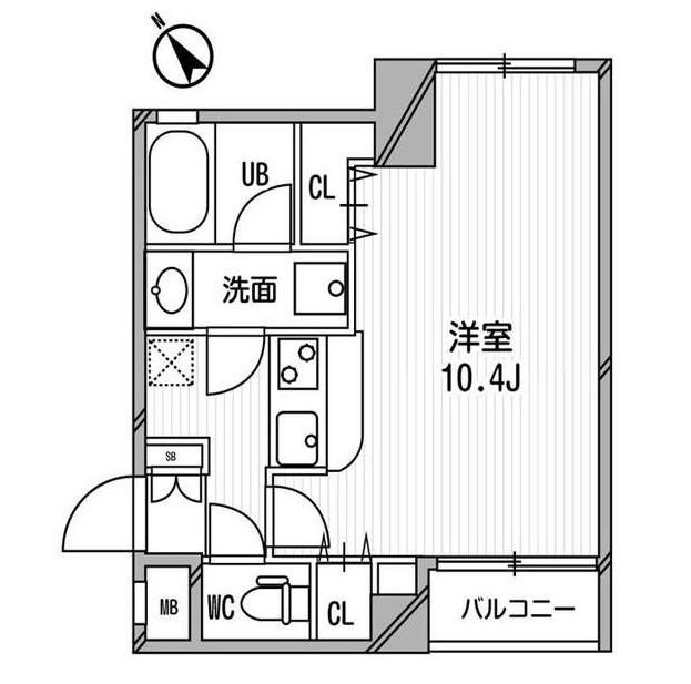 フレスカ代々木上原Ⅱ206号室