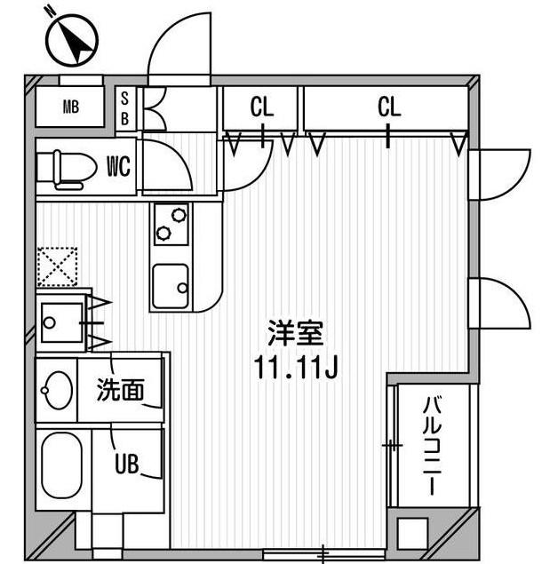 フレスカ代々木上原Ⅱ207号室