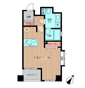 プラティノ代々木206号室