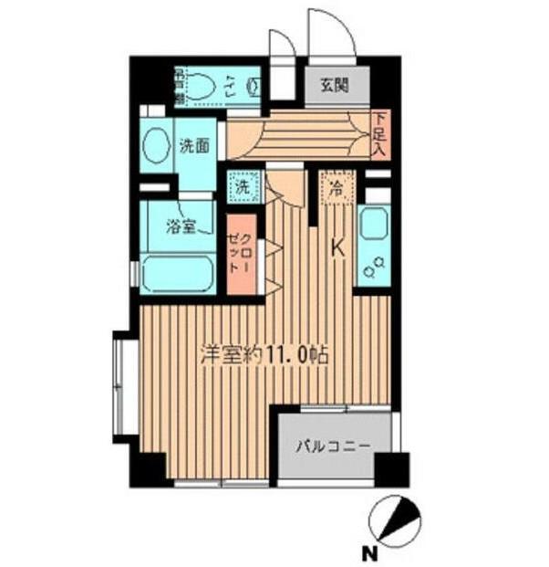 プラティノ代々木401号室
