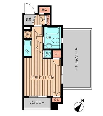 プラティノ代々木503号室