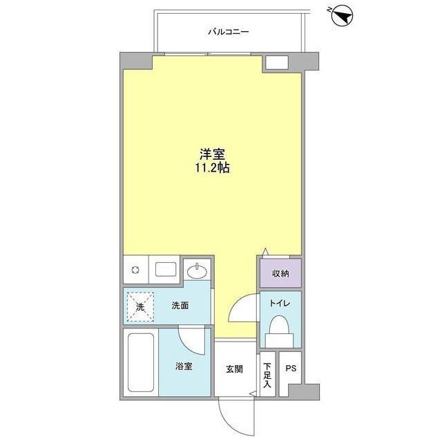 エスポワール渋谷松濤206号室