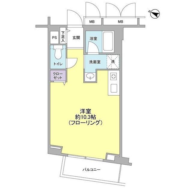 エスポワール渋谷松濤6F号室