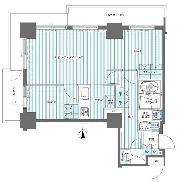 フェニックス西参道タワー1201号室