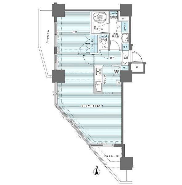 フェニックス西参道タワー1302号室