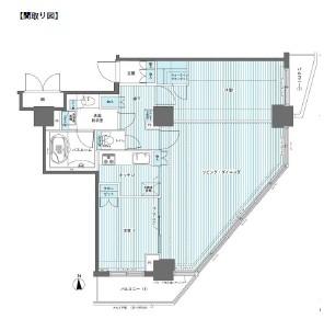 フェニックス西参道タワー1704号室