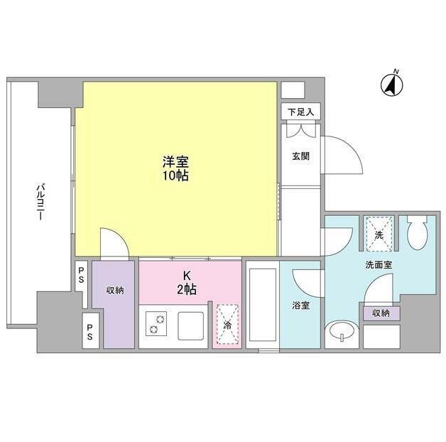 ウィスタリアマンション西新宿403号室