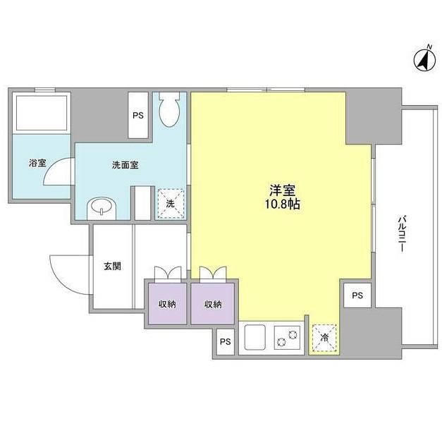 ウィスタリアマンション西新宿601号室
