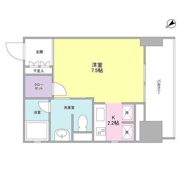 ウィスタリアマンション西新宿702号室