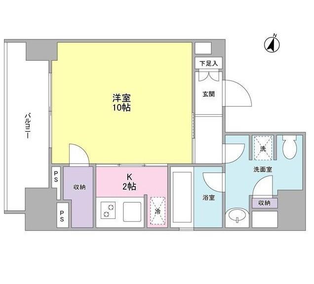 ウィスタリアマンション西新宿803号室