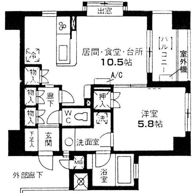 東急ドエル・プレステージ参宮橋301号室