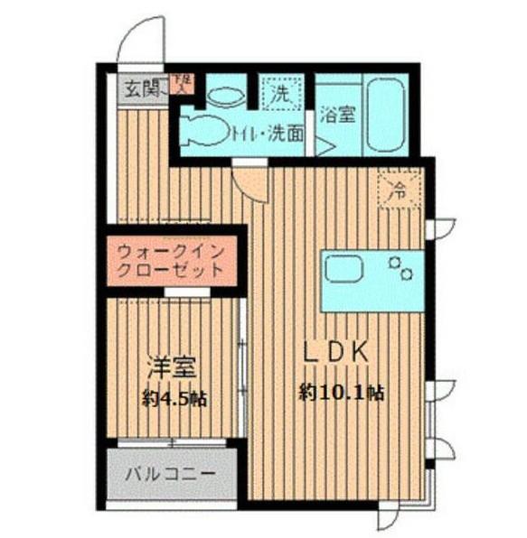 プロスペクト初台203号室