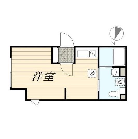LAPiS新宿南303号室