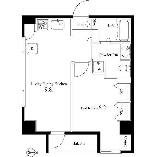 エルヴィータ代々木304-0号室