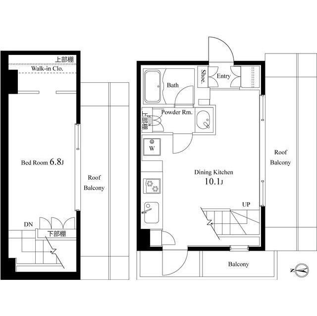 エルヴィータ代々木501-2号室