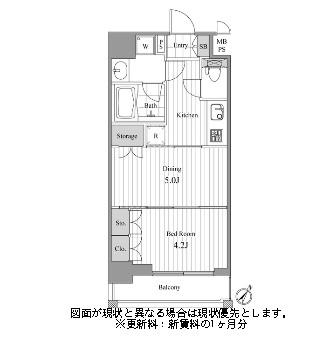 NCRe新宿中央公園502号室