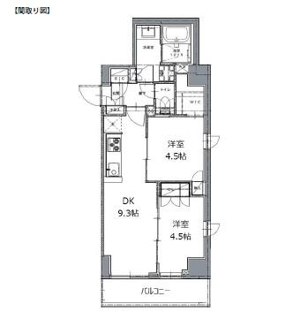 レジディア白金高輪Ⅱ203号室