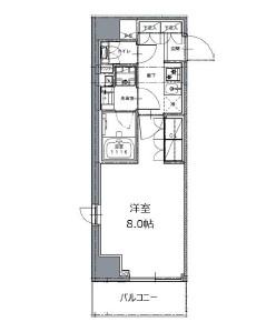 レジディア白金高輪Ⅱ301号室
