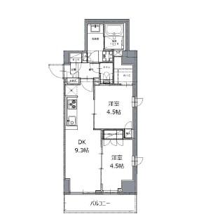 レジディア白金高輪Ⅱ403号室