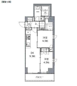 レジディア白金高輪Ⅱ703号室