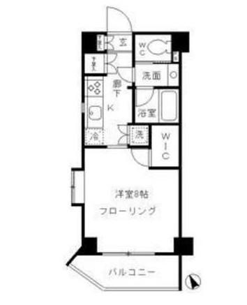 パークリュクス渋谷北参道mono205号室