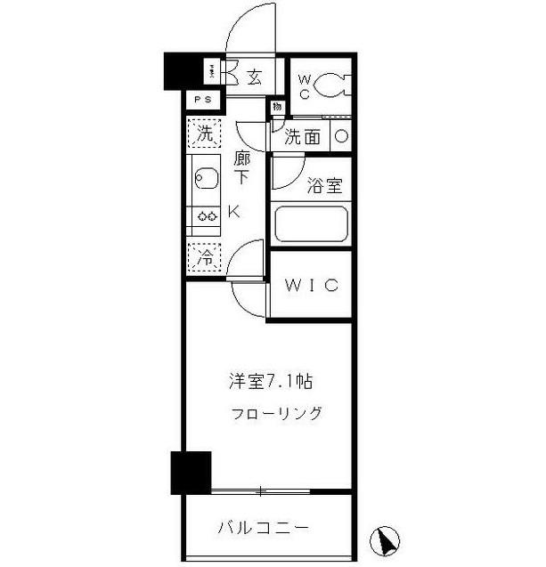 パークリュクス渋谷北参道mono206号室