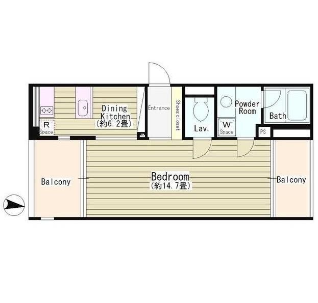 富ケ谷アパ-トメント601号室