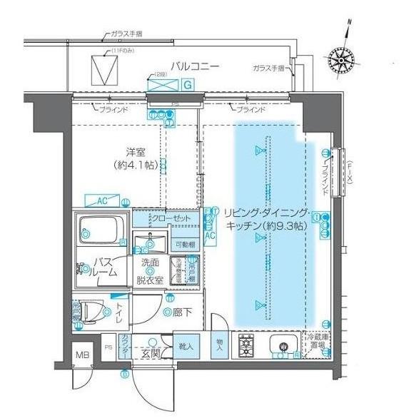 ZOOM神宮前1004号室