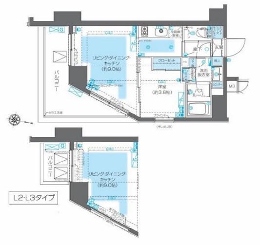 ZOOM神宮前1103号室