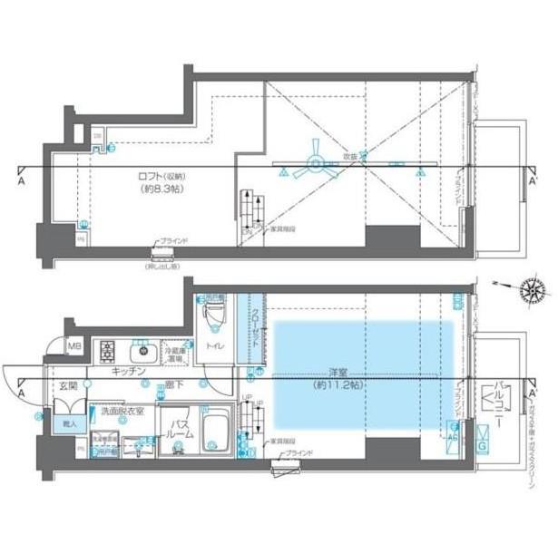 ZOOM神宮前1201号室