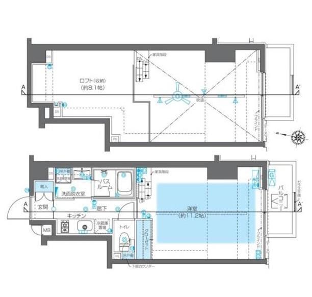 ZOOM神宮前1202号室