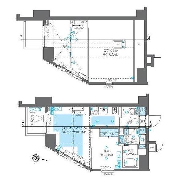 ZOOM神宮前1203号室