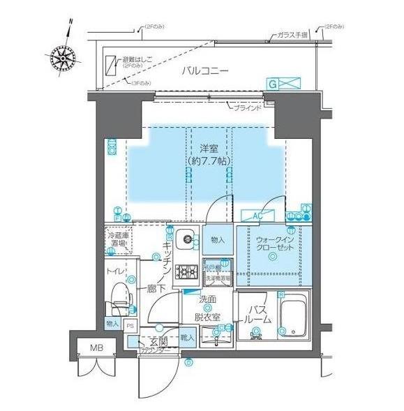 ZOOM神宮前305号室