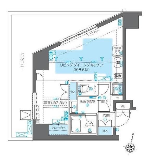 ZOOM神宮前306号室