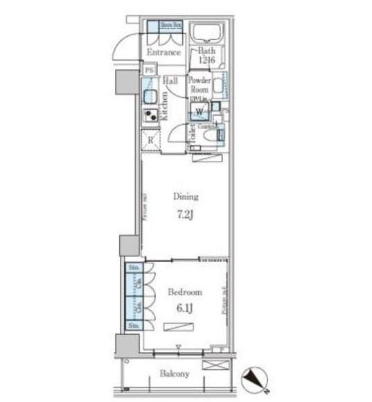 パークアクシス表参道レジデンス305号室
