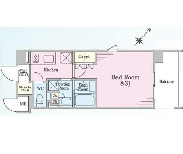 リージア代々木ウエスト601号室