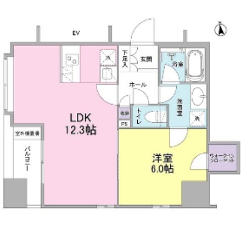 リバーレ東新宿1101号室