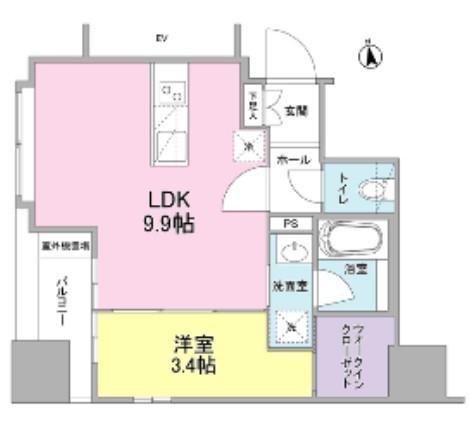 リバーレ東新宿201号室