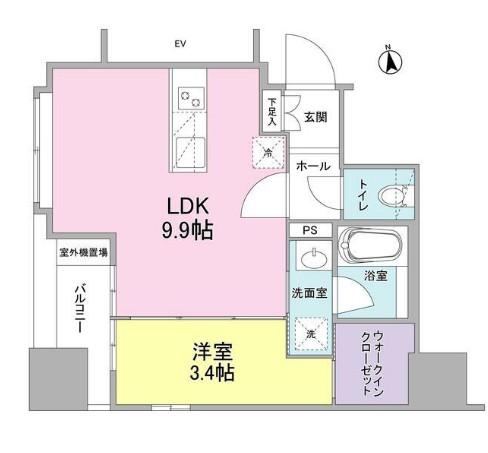 リバーレ東新宿301号室