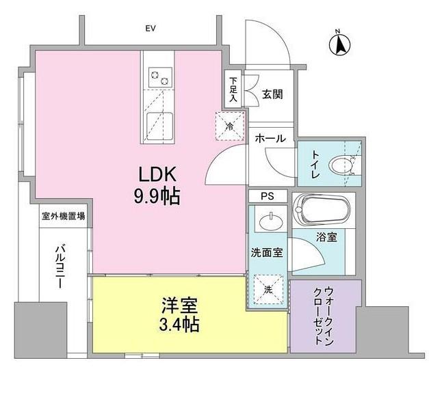 リバーレ東新宿501号室