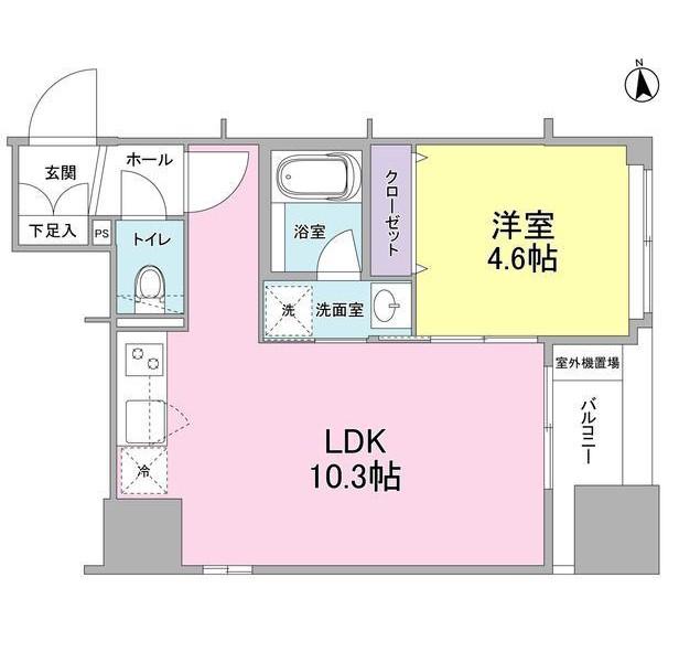 リバーレ東新宿502号室
