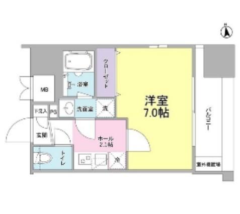 リバーレ東新宿603号室