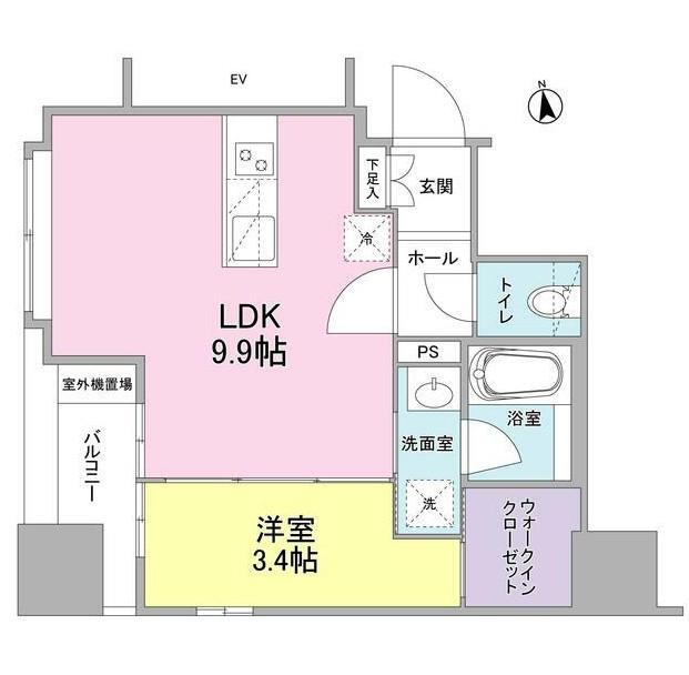リバーレ東新宿701号室