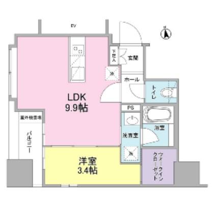 リバーレ東新宿801号室