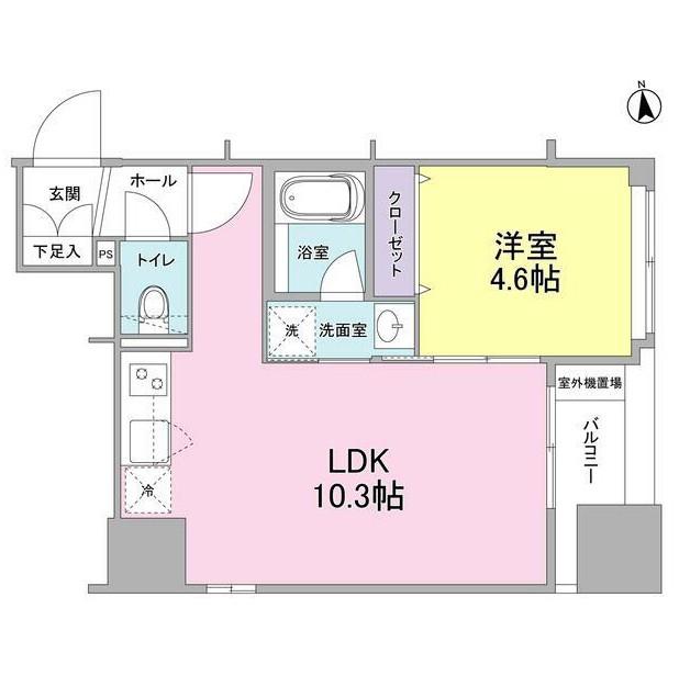 リバーレ東新宿802号室