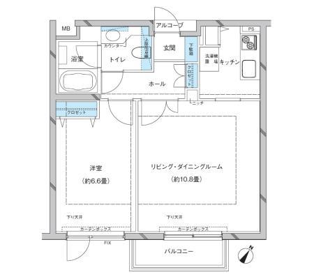 参宮橋マンション202号室