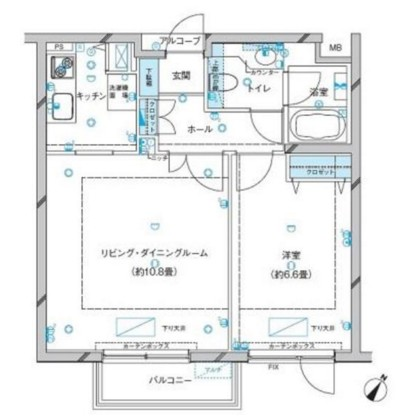 参宮橋マンション203号室