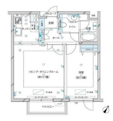 参宮橋マンション205号室
